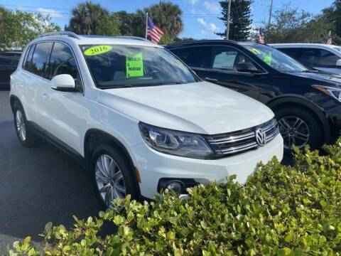 2016 Volkswagen Tiguan for sale at Mike Auto Sales in West Palm Beach FL