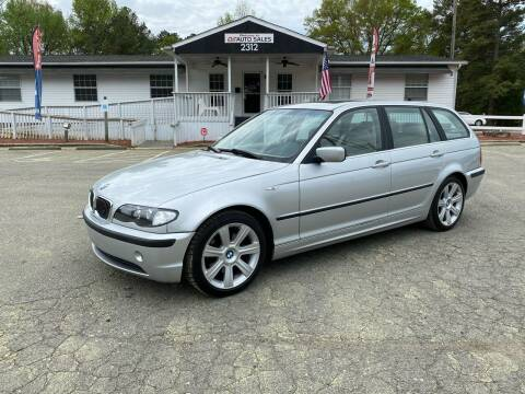 2002 BMW 3 Series for sale at CVC AUTO SALES in Durham NC