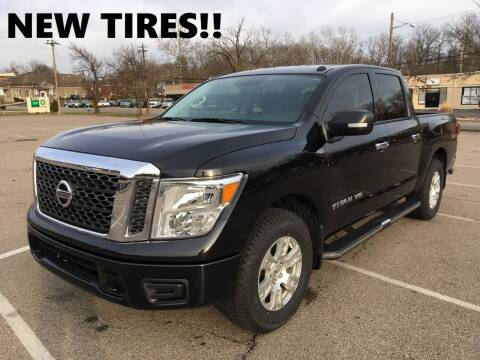 2018 Nissan Titan for sale at Borderline Auto Sales in Loveland OH