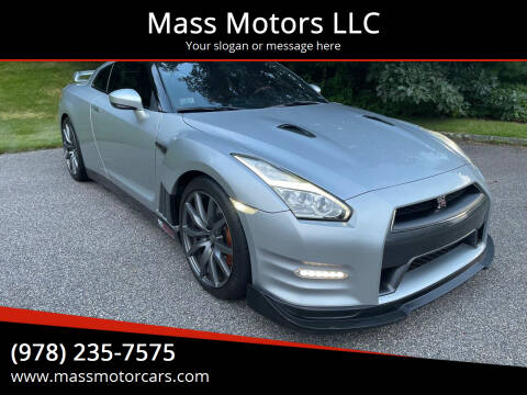 2015 Nissan GT-R for sale at Mass Motors LLC in Worcester MA