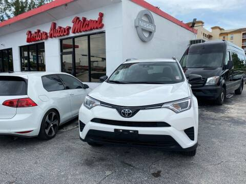 2017 Toyota RAV4 for sale at Nation Autos Miami in Hialeah FL