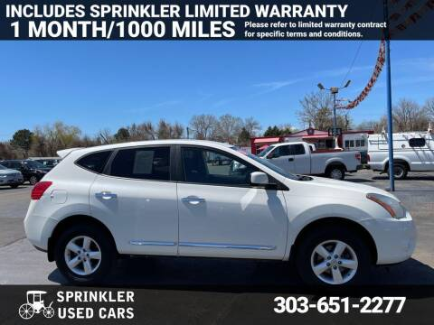 2013 Nissan Rogue for sale at Sprinkler Used Cars in Longmont CO