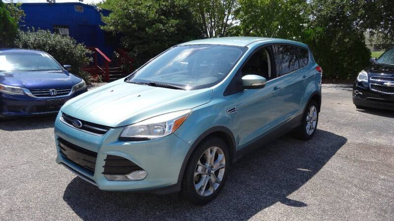 2013 Ford Escape for sale at HOUSTON'S BEST AUTO SALES in Houston TX