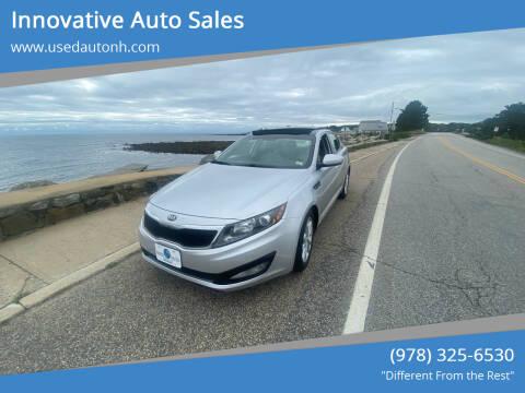 2013 Kia Optima for sale at Innovative Auto Sales in North Hampton NH