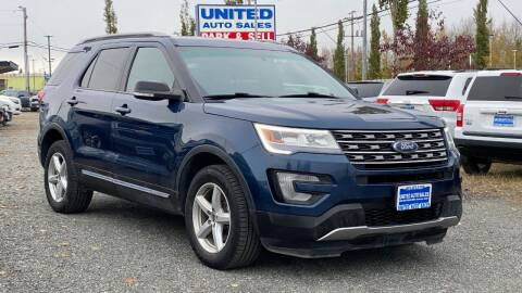 2016 Ford Explorer for sale at United Auto Sales in Anchorage AK