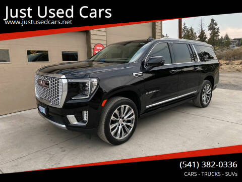 2021 GMC Yukon XL for sale at Just Used Cars in Bend OR