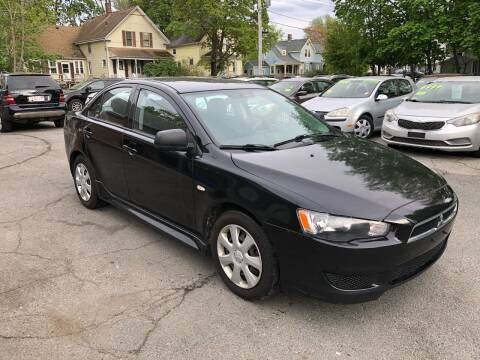 2012 Mitsubishi Lancer for sale at Emory Street Auto Sales and Service in Attleboro MA