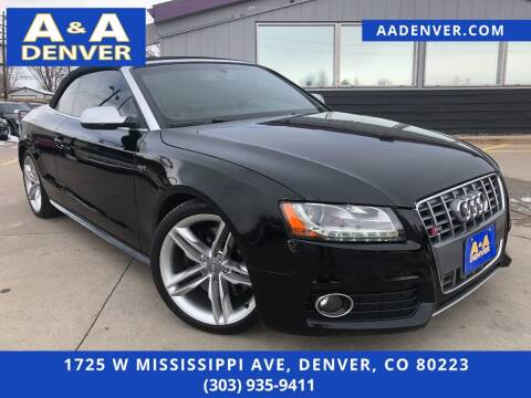 2010 Audi S5 for sale at A & A AUTO LLC in Denver CO