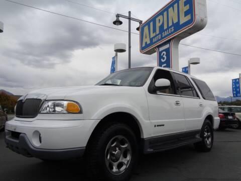 2000 Lincoln Navigator for sale at Alpine Auto Sales in Salt Lake City UT