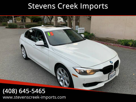 2015 BMW 3 Series for sale at Stevens Creek Imports in San Jose CA