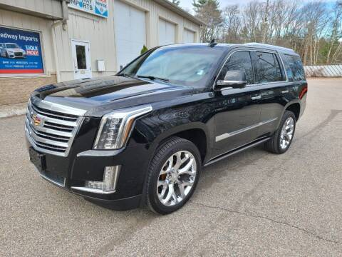2016 Cadillac Escalade for sale at Medway Imports in Medway MA