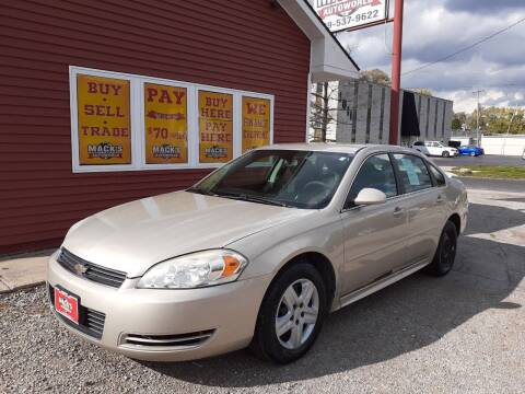 2009 Chevrolet Impala for sale at Mack's Autoworld in Toledo OH