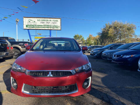 2017 Mitsubishi Lancer for sale at GO GREEN MOTORS in Lakewood CO