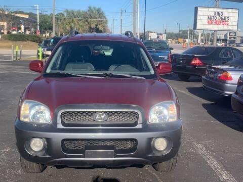 2004 Hyundai Santa Fe for sale at King Auto Deals in Longwood FL
