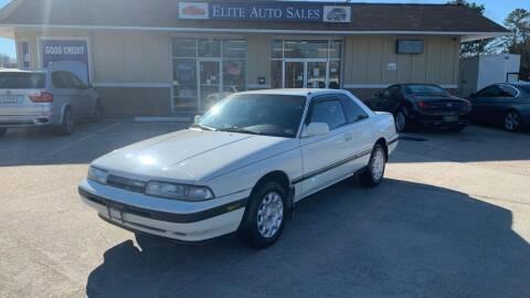 1989 Mazda MX-6 for sale at Elite Auto Sales in Portsmouth VA
