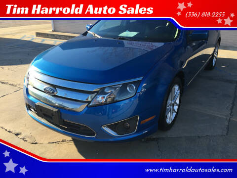 2011 Ford Fusion for sale at Tim Harrold Auto Sales in Wilkesboro NC
