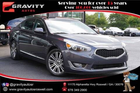 2014 Kia Cadenza for sale at Gravity Autos Roswell in Roswell GA