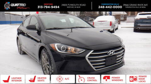 2018 Hyundai Elantra for sale at Quattro Motors 2 in Farmington Hills MI