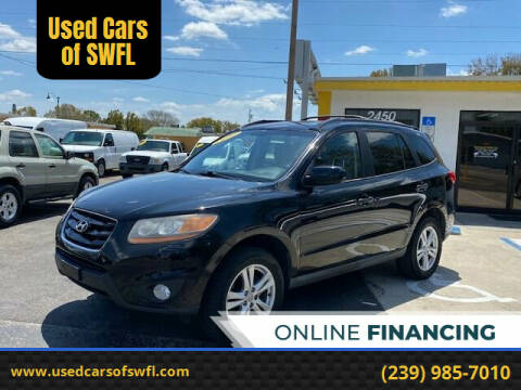 2010 Hyundai Santa Fe for sale at Used Cars of SWFL in Fort Myers FL