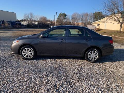 2010 Toyota Corolla for sale at MEEK MOTORS in North Chesterfield VA