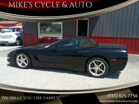 2000 Chevrolet Corvette for sale at MIKE'S CYCLE & AUTO in Connersville IN