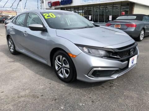 2020 Honda Civic for sale at I-80 Auto Sales in Hazel Crest IL