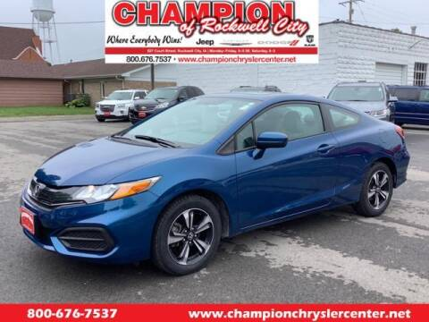 2015 Honda Civic for sale at CHAMPION CHRYSLER CENTER in Rockwell City IA