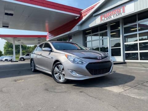 2013 Hyundai Sonata Hybrid for sale at Furrst Class Cars LLC in Charlotte NC