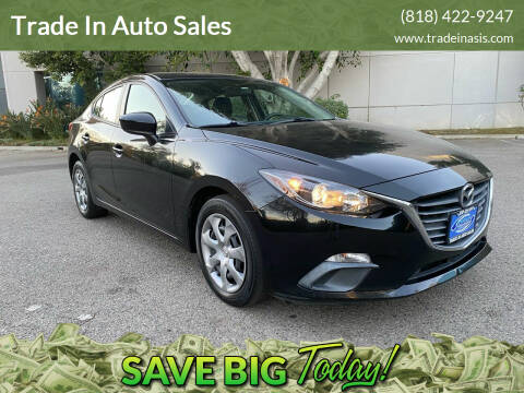 2014 Mazda MAZDA3 for sale at Trade In Auto Sales in Van Nuys CA