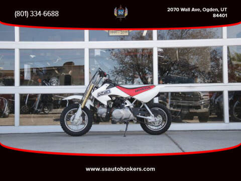 2000 Honda XR50R for sale at S S Auto Brokers in Ogden UT