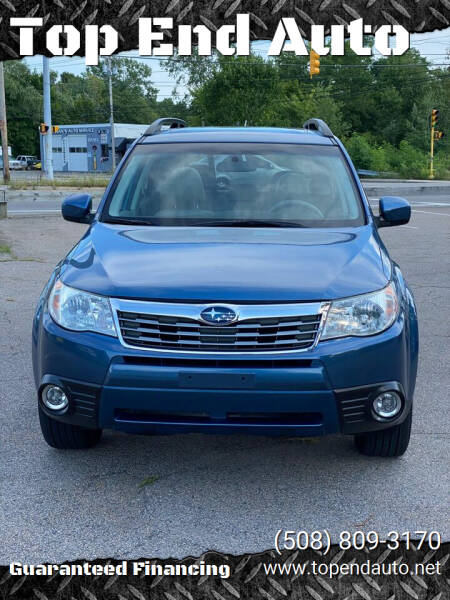 2010 Subaru Forester for sale at Top End Auto in North Atteboro MA
