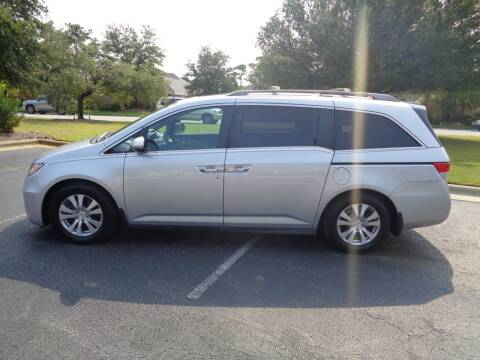 2014 Honda Odyssey for sale at BALKCUM AUTO INC in Wilmington NC