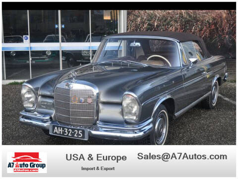 1962 Mercedes-Benz 300-Class for sale at A7 AUTO SALES in Holly Hill FL