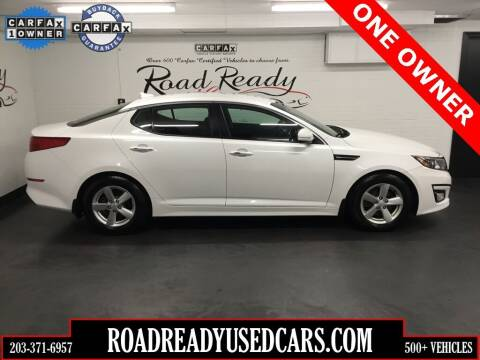 2015 Kia Optima for sale at Road Ready Used Cars in Ansonia CT