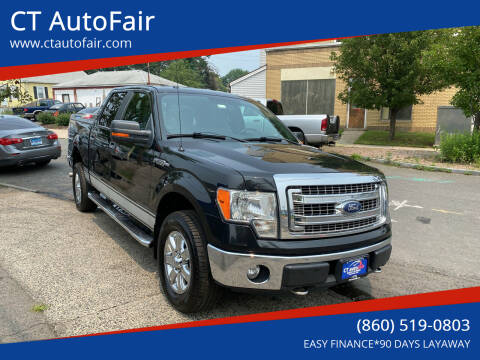 2013 Ford F-150 for sale at CT AutoFair in West Hartford CT