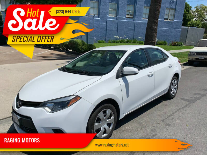 2014 Toyota Corolla for sale in Los Angeles, CA