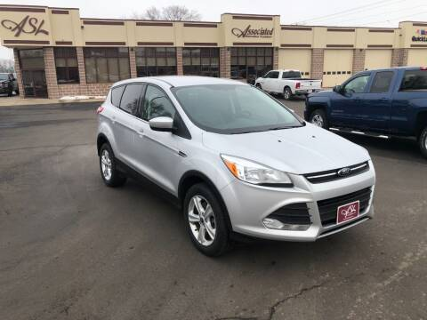 2013 Ford Escape for sale at ASSOCIATED SALES & LEASING in Marshfield WI