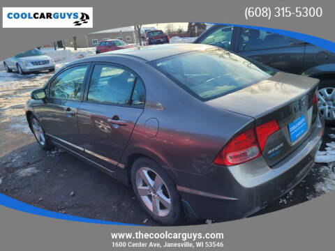 2008 Honda Civic for sale at Cool Car Guys in Janesville WI