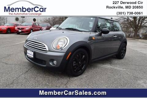 2010 MINI Cooper for sale at MemberCar in Rockville MD