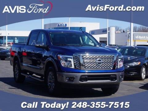 2019 Nissan Titan for sale at Work With Me Dave in Southfield MI