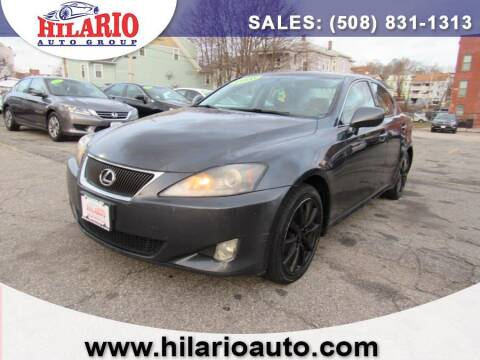 2007 Lexus IS 250 for sale at Hilario's Auto Sales in Worcester MA
