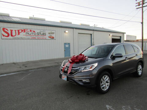2016 Honda CR-V for sale at SUPER AUTO SALES STOCKTON in Stockton CA