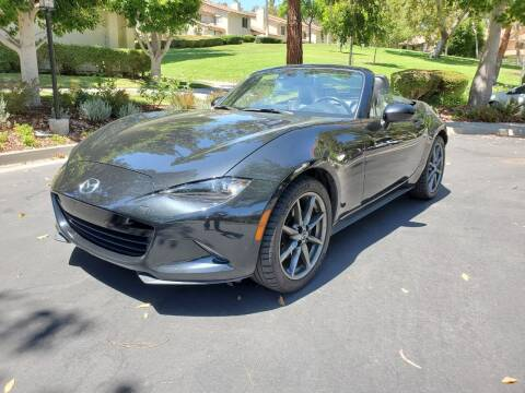 2016 Mazda MX-5 Miata for sale at E MOTORCARS in Fullerton CA
