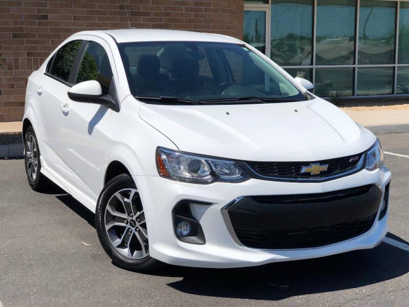 2018 Chevrolet Sonic for sale at AKOI Motors in Tempe AZ