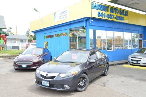 2012 Acura TSX for sale at Earnest Auto Sales in Roseburg OR