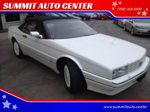 1992 Cadillac Allante for sale at SUMMIT AUTO CENTER in Summit IL