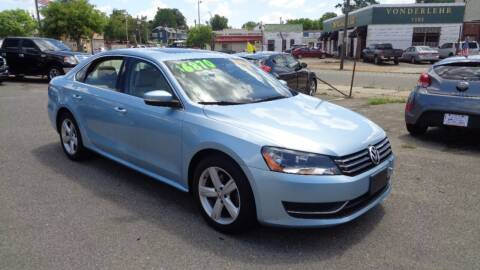 2013 Volkswagen Passat for sale at RVA MOTORS in Richmond VA