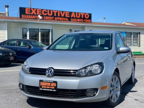 2011 Volkswagen Golf for sale at Executive Auto in Winchester VA