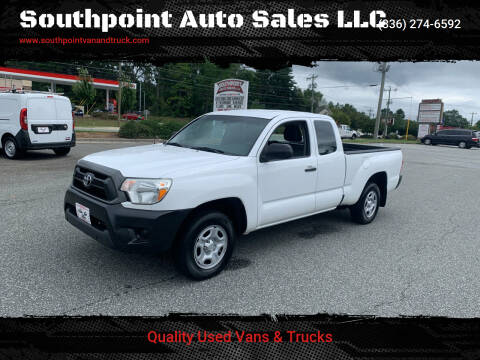 2015 Toyota Tacoma for sale at Southpoint Auto Sales LLC in Greensboro NC