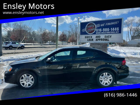 2014 Dodge Avenger for sale at Ensley Motors in Allendale MI
